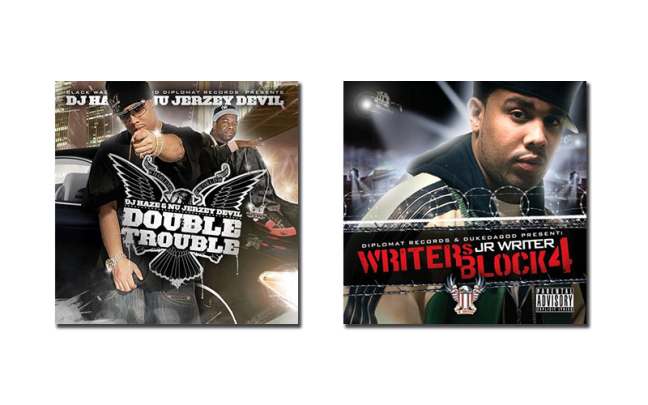J.R. Writer & Hell Rell - Double Trouble & J.R. Writer - Writers Block 4